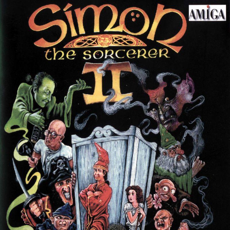 Cover Art for Simon the Sorcerer 2 on Amiga