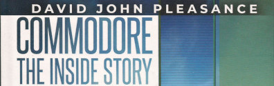 Logo for book titled Commodore The Inside Story